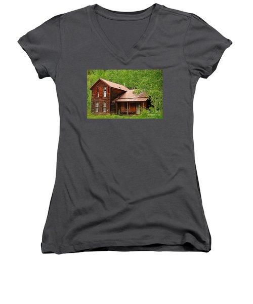 Crystal Cabin Women's V-Neck T-Shirt