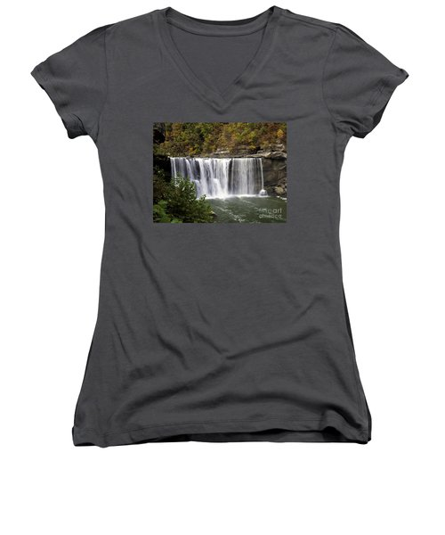 Cumberland Falls H Women's V-Neck (Athletic Fit)