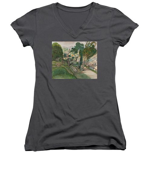 David's House Women's V-Neck