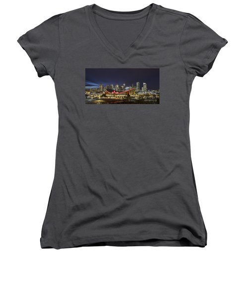 Dazzled By The Light Women's V-Neck T-Shirt