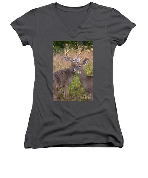 Deer 48 Women's V-Neck T-Shirt