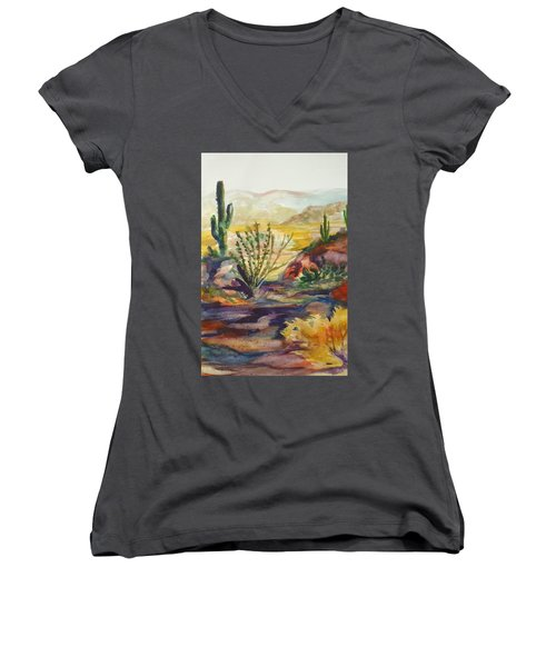 Desert Color Women's V-Neck T-Shirt