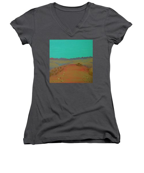 Desert Overlook Women's V-Neck