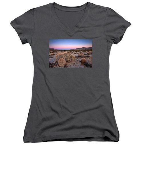Desert Twilight Women's V-Neck