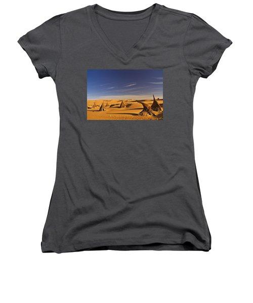 Desert Village Women's V-Neck