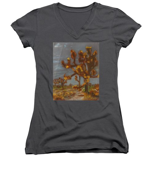 Dessert Trees Women's V-Neck (Athletic Fit)