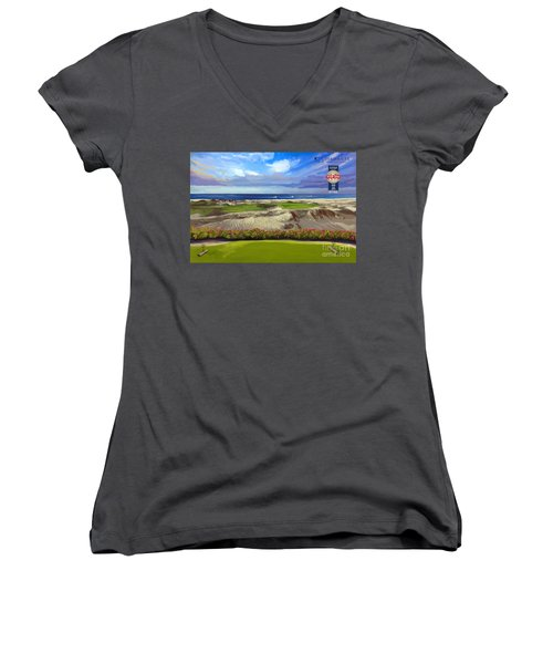 Diamante Dunes Cabo 16th Women's V-Neck T-Shirt