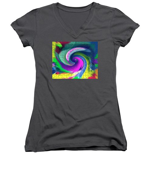 Dimensional Doorway Women's V-Neck