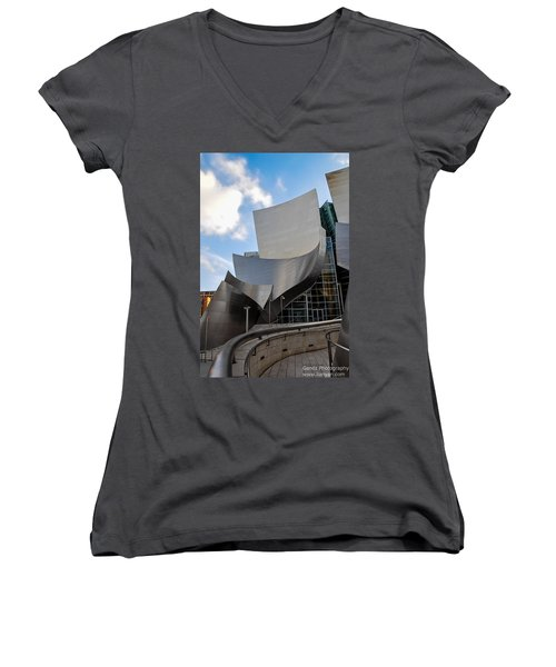 Disney Hall Women's V-Neck