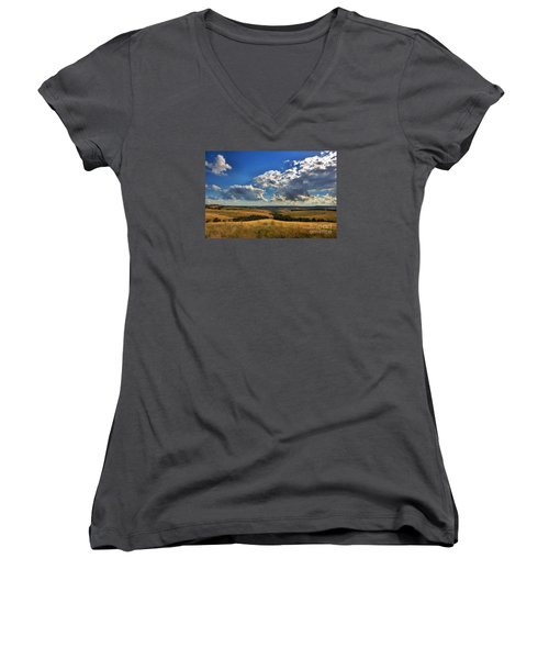Donny Brook Hills Women's V-Neck T-Shirt