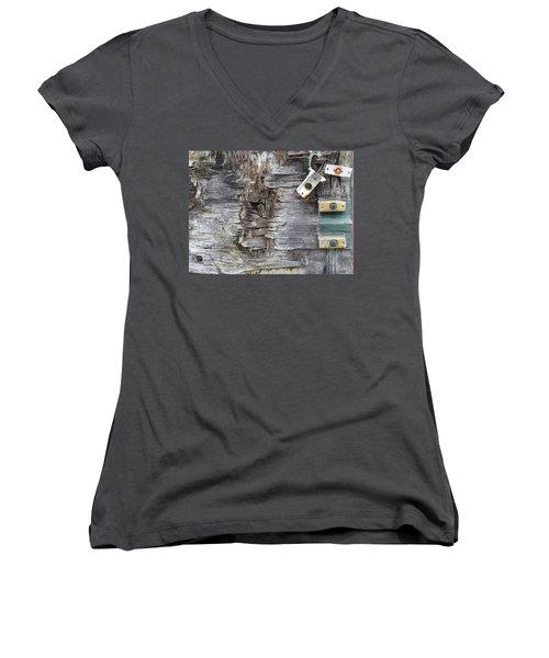 Doorbells Women's V-Neck T-Shirt