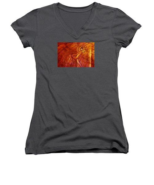 Dormant Soul Women's V-Neck T-Shirt