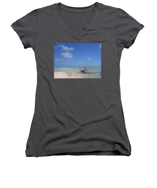 Dream Atoll  Women's V-Neck