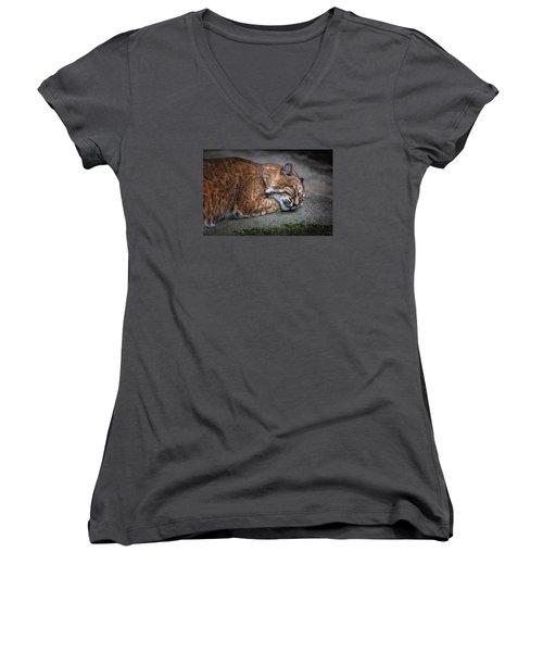 Dream Women's V-Neck T-Shirt (Junior Cut) by Hayato Matsumoto