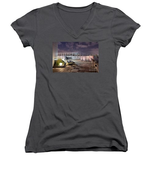 Dream On Until Tomorrow Women's V-Neck T-Shirt