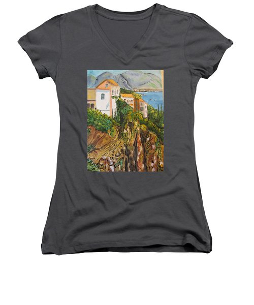 Dream Vacation Women's V-Neck (Athletic Fit)