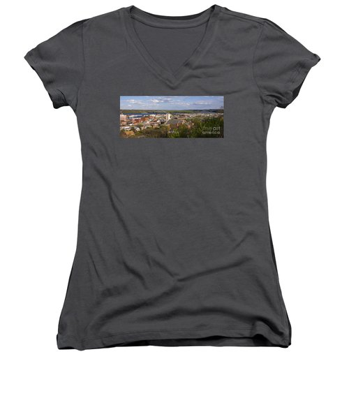 Dubuque Iowa Women's V-Neck