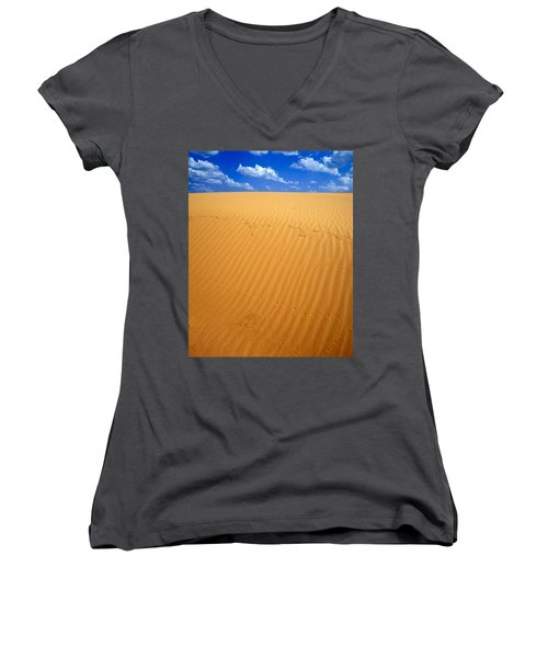 Dunes Women's V-Neck T-Shirt