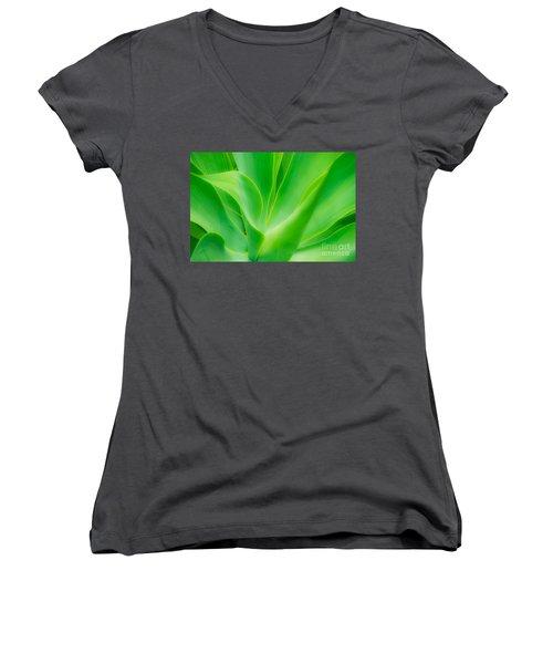 Dwarf Agave Women's V-Neck T-Shirt