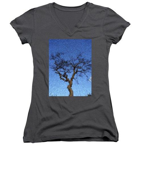 Dynamic Dawn Women's V-Neck T-Shirt