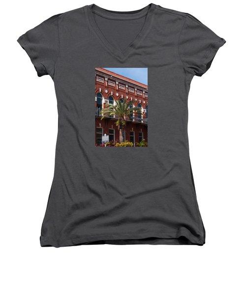 El Centro Espanol De Tampa Women's V-Neck T-Shirt