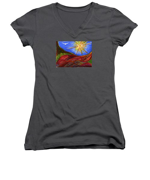 Elements Of Earth Women's V-Neck