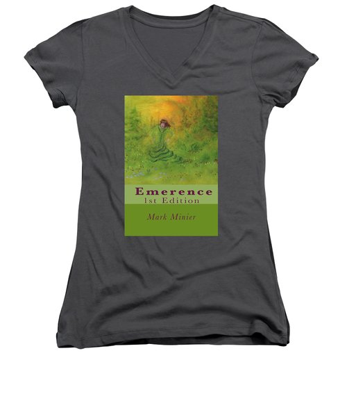Emerence 156 Page Paperback. Women's V-Neck (Athletic Fit)