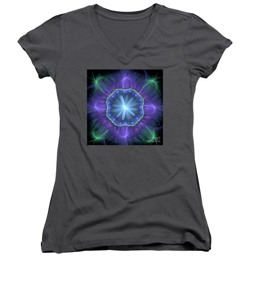 Ethereal Window Women's V-Neck (Athletic Fit)