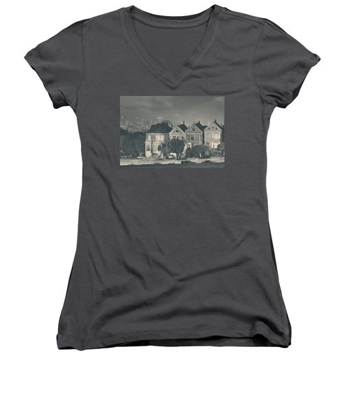 Evening Rendezvous Women's V-Neck