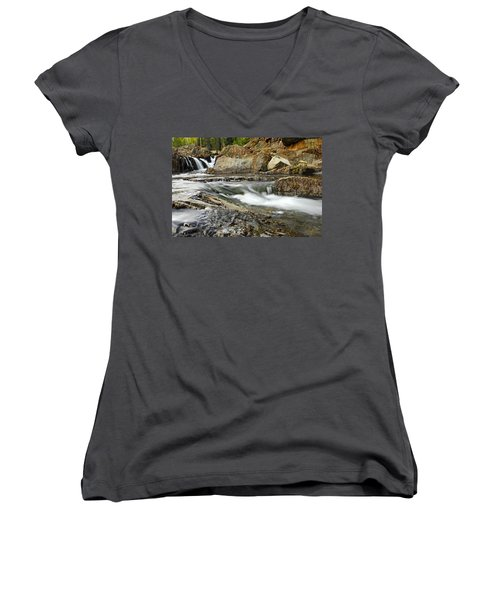 Everything Flows Women's V-Neck (Athletic Fit)