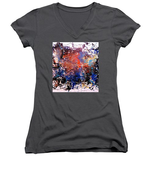 Exotic Zone Women's V-Neck T-Shirt (Junior Cut) by Roberto Prusso