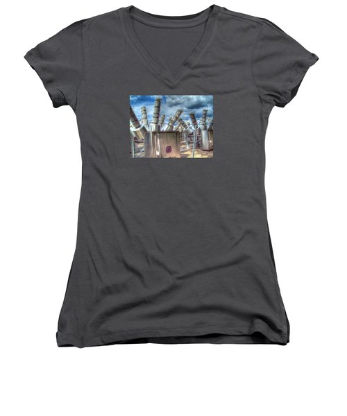 Exterminate - Exterminate Women's V-Neck (Athletic Fit)