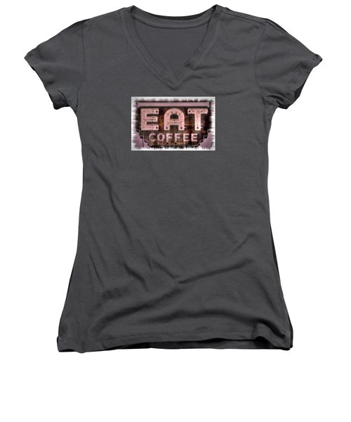 Fair Warning Or To The Point - Maryland Country Roads - Some Things Just Don't Go Together No. 2 Women's V-Neck (Athletic Fit)