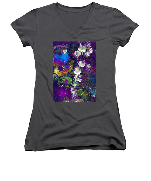 Fairy Dusting Women's V-Neck (Athletic Fit)