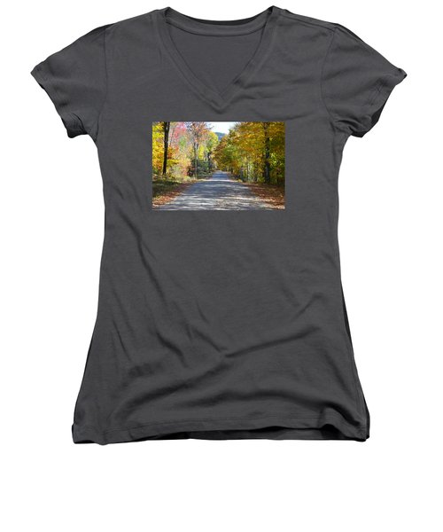 Fall Backroad Women's V-Neck