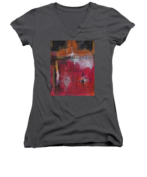 Fall Women's V-Neck T-Shirt