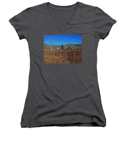 Farm House 2 Women's V-Neck T-Shirt