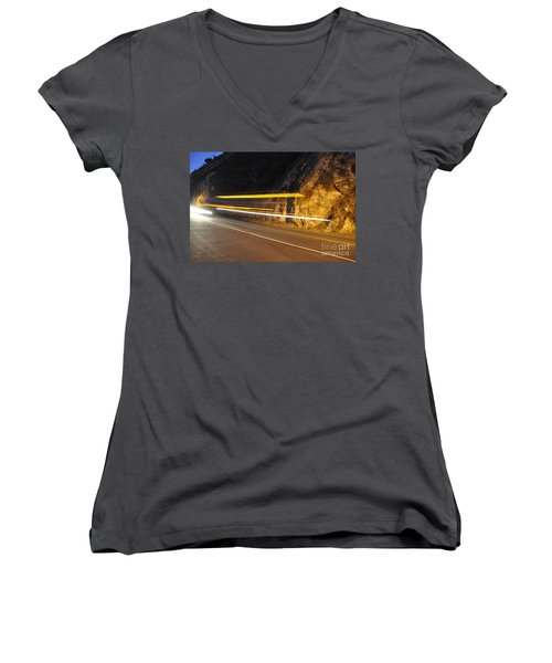 Fast Car Women's V-Neck