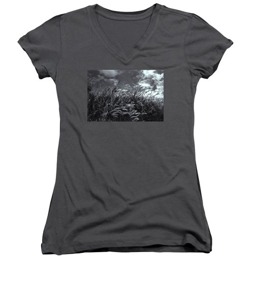 Field Of Dreams Women's V-Neck T-Shirt