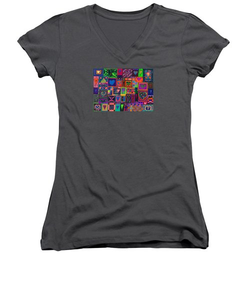 Find U'r Love Found Women's V-Neck (Athletic Fit)