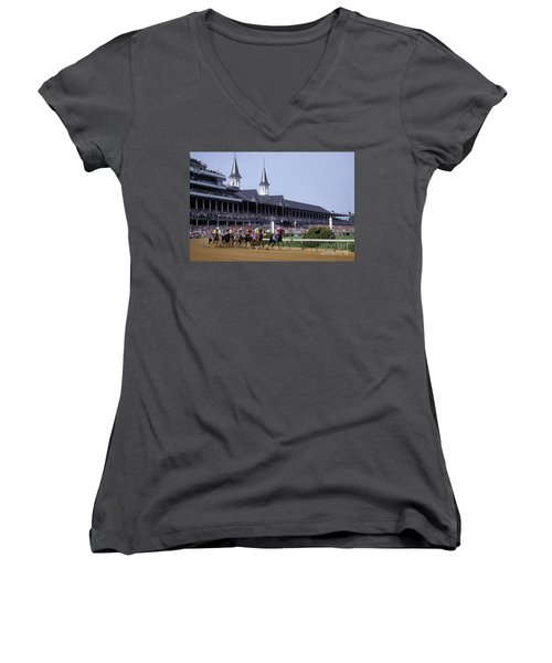First Saturday In May - Fs000544 Women's V-Neck T-Shirt