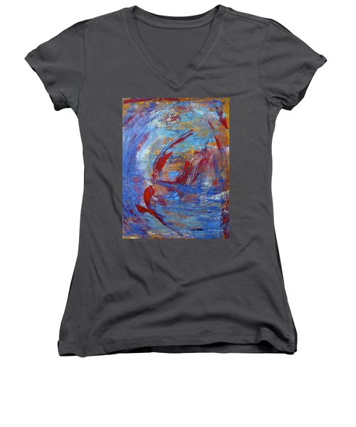 Flight Women's V-Neck T-Shirt