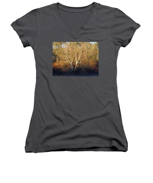 Flint River 16 Women's V-Neck