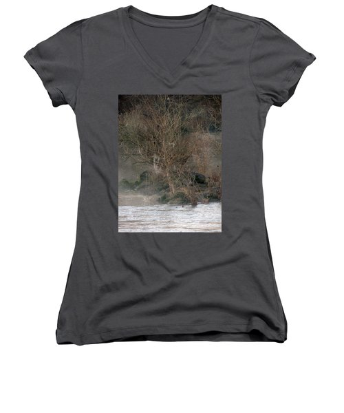 Flint River 19 Women's V-Neck