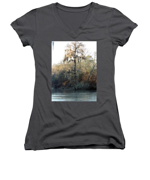 Flint River 30 Women's V-Neck
