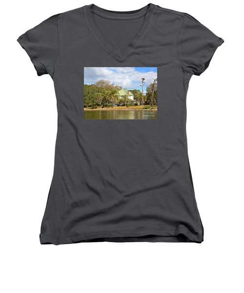 Florida Style Women's V-Neck (Athletic Fit)