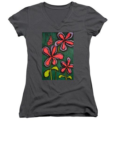 Flowers 4 Sydney Women's V-Neck T-Shirt