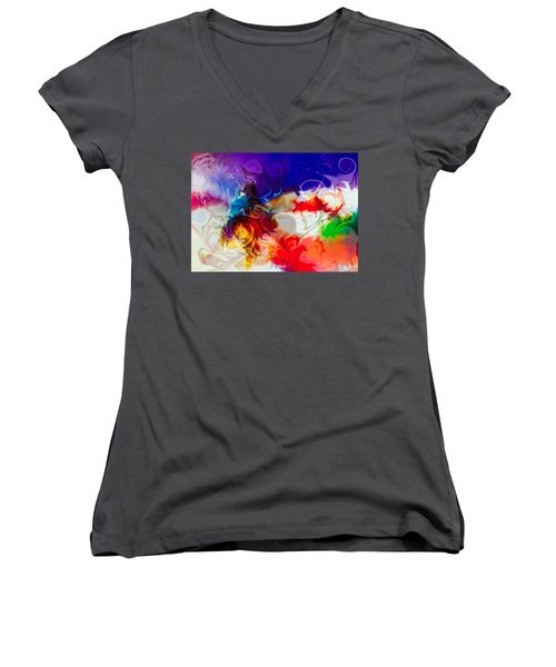 Fly With Me Women's V-Neck
