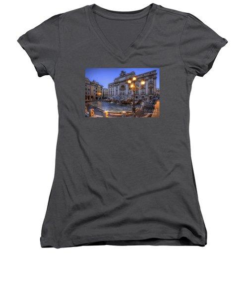 Fontana Di Trevi 3.0 Women's V-Neck T-Shirt