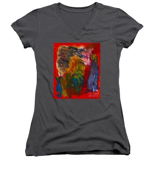 For Better For Worse Women's V-Neck T-Shirt